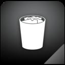 trashcan,full,shadow icon