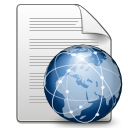 Application, Gnome, Mime, Xhtml+Xml icon