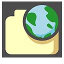 internet, document, paper, file icon