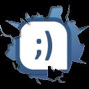 texto, Inside, Tuenti icon