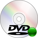disc, mount, dvd icon