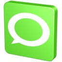 statement, announcement, hint, about, forum, report, verdancy, information, technorati, bubble, vert, talk, green, chat, new, message, communication icon