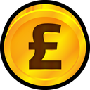 pound, currency, england, coin, uk icon