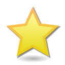 Bookmark, Star icon