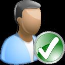 check user icon