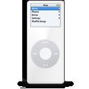 ipod,nano,white icon