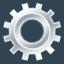 gear, run, settings, cog icon