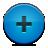 button, add, blue icon
