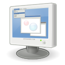 lcd, display, screen, computer, personal computer, pc, monitor icon
