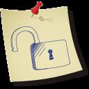 padlock unlocked icon