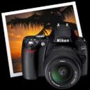 Nikon D40 iPhoto icon