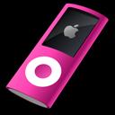 pink, nano, ipod icon