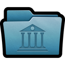archive, folder, mac, data, library icon