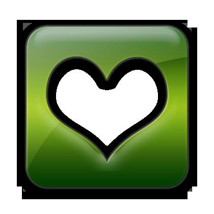 square, favorite icon