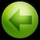 Alarm Arrow Left icon