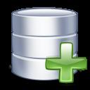 add, database, db, plus icon