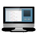 computer, coding icon