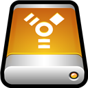 Device, Drive, External, Firewire icon
