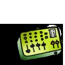 mixer, toye icon