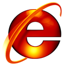 ie7,burning icon