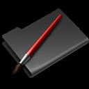 Black, Graphics icon