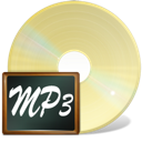 fichiers, mp3 icon