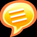 speech, chat, talk icon