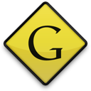 google, sign icon