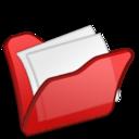 Folder red mydocuments icon