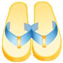 flip flop, flipflops icon
