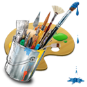 painting, graphics icon