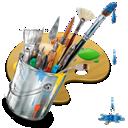 painting, graphics icon