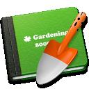 gardening, book icon