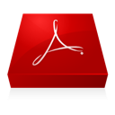 Acrobat, Adobe, Inverted icon