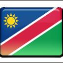 namibia,flag,country icon