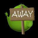 bird, away icon