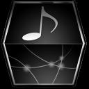 box, music icon