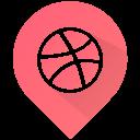 ball, sports, dribble icon