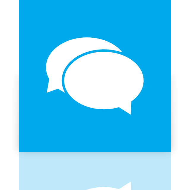 messaging, alt, mirror icon