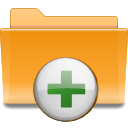 Add, Archive, Folder, Kde, To icon