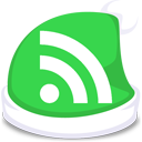 xmas, subscribe, green, rss, feed icon