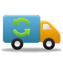 truck, autoship, delivery, shipment icon
