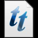 tt, font icon