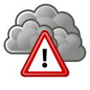 weather, alert, severe icon