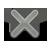 x, close icon
