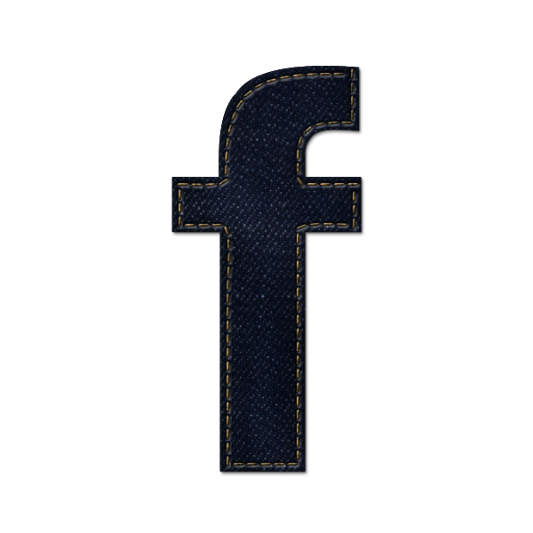 social network, jean, logo, social, sn, denim, facebook icon