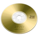dvd, device, optical, |, rw icon