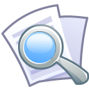 file, document, search, paper, find, seek icon