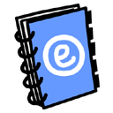 address, book, read, reading icon
