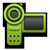 Camera, Green, Video icon